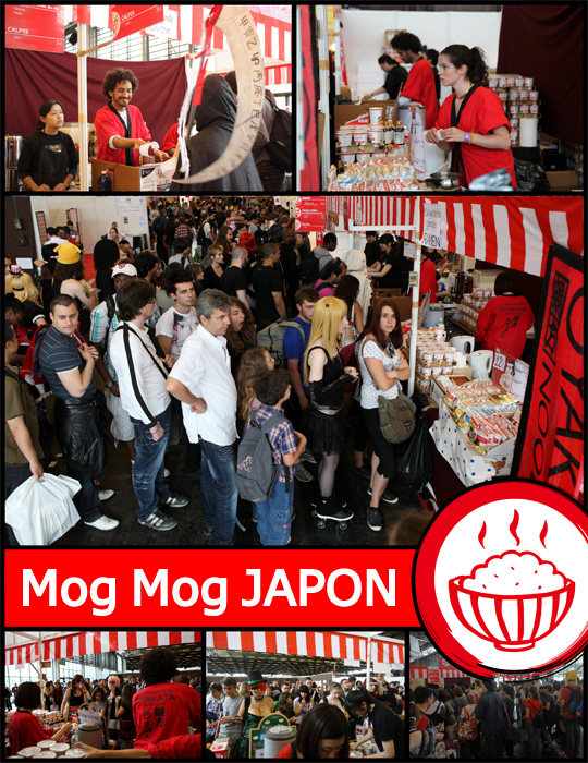 stand mog mog japon in japan expo 2012